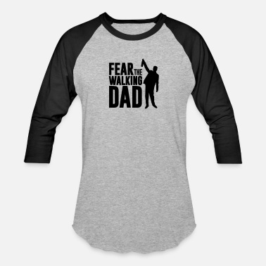 Fear Drink fear the walking dad, drinking dad - Baseball T-Shirt