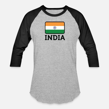 India National Flag Of India - Baseball T-Shirt
