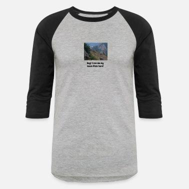 b6e9e6507 John Deere PhotoBomb Deer Funny Tee - Unisex Baseball T-Shirt