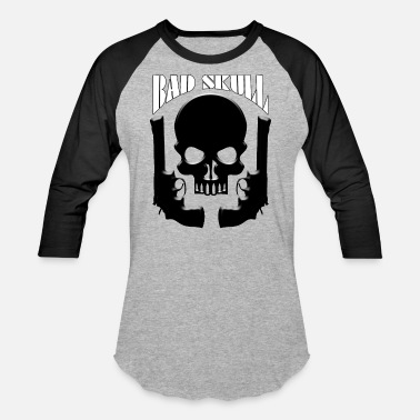 Skull Bad Boy BAD SKULL - Unisex Baseball T-Shirt