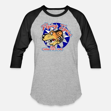 Avg Flying Tigers - AVG 1941-1942 - Baseball T-Shirt