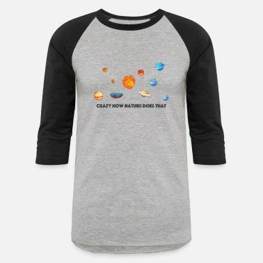 9ee93238 Flat Earth Flat Earth solar system - Unisex Baseball T-Shirt