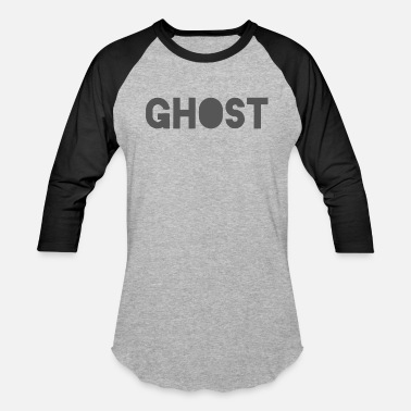 Merch Text Ghost Clothing - Ghost Text Logo Merch - Baseball T-Shirt