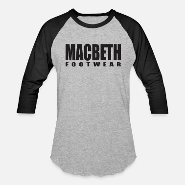 Macbeth Macbeth Foot Wear Black - Baseball T-Shirt