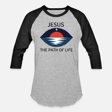 Love For Eternity Clothing Jesus The Path Of Life - Baseball T-Shirt
