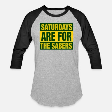Stm Saturdays Are For The Sabers - Baseball T-Shirt