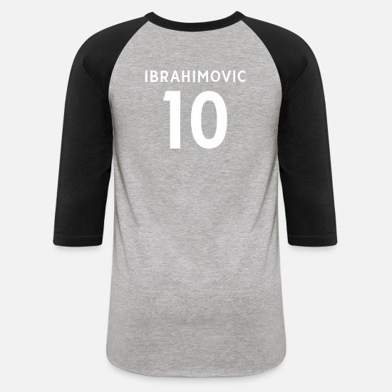 newest 89816 cd2d8 zlatan ibrahimovic Unisex Baseball T-Shirt | Spreadshirt