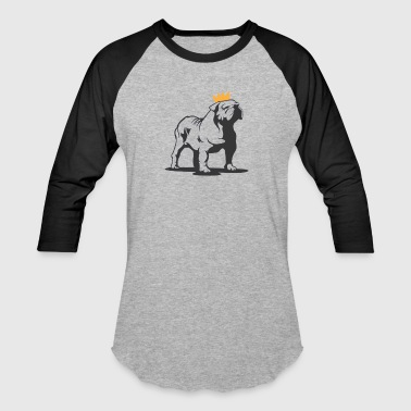 Bully Dog King - Baseball T-Shirt