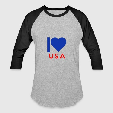 I love USA - Baseball T-Shirt