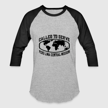 Peru Lima Central Mission - LDS Mission CTSW - Baseball T-Shirt