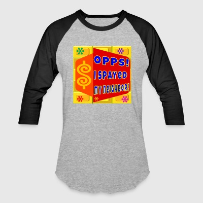 TV Game Show Apparel - TPIR (The Price Is...) - Baseball T-Shirt