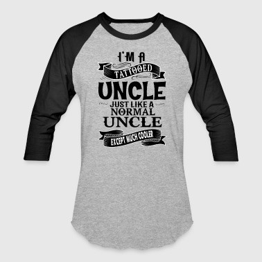 TATTOOED UNCLE - Baseball T-Shirt