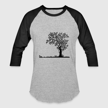 tree - Baseball T-Shirt