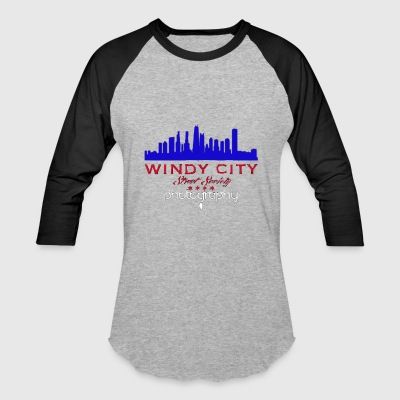 Windy City Street Society (Chi°TownCarClub) - Baseball T-Shirt