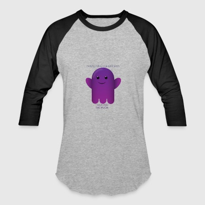 pURPLE gHOST fRIEND5 - Baseball T-Shirt