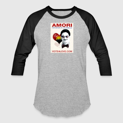 Amori for Mayor of Los Angeles eco friendly shirt - Baseball T-Shirt