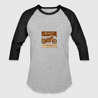 Michigan Motorcycle Sales & Service - Baseball T-Shirt