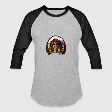 front_looking_indian - Baseball T-Shirt
