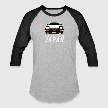 TOYOTA AE86 PANDA TRUENO - STRAIGHT OUTTA JAPAN - Baseball T-Shirt