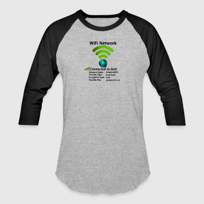 Wifi Connection - Baseball T-Shirt
