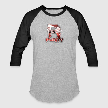 Rose_Purity - Baseball T-Shirt