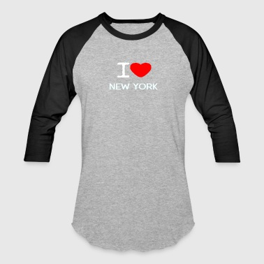 I LOVE NEW YORK - Baseball T-Shirt
