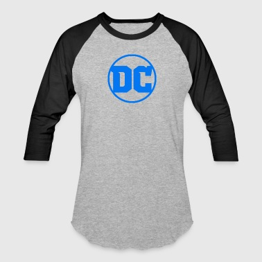 DC Comics logo - Baseball T-Shirt