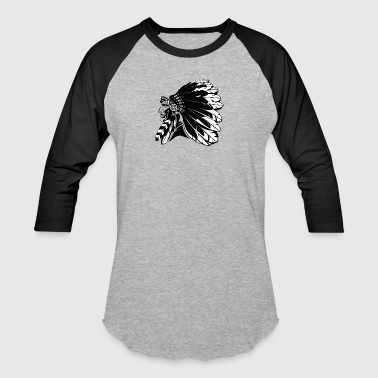 indian_chief - Baseball T-Shirt