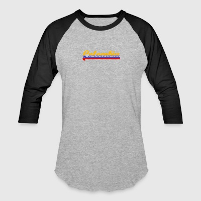 Colombia - Baseball T-Shirt