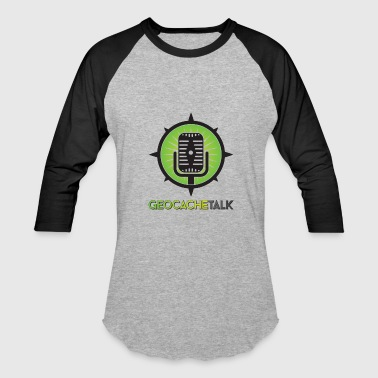 Geocache Talk Logo - Baseball T-Shirt