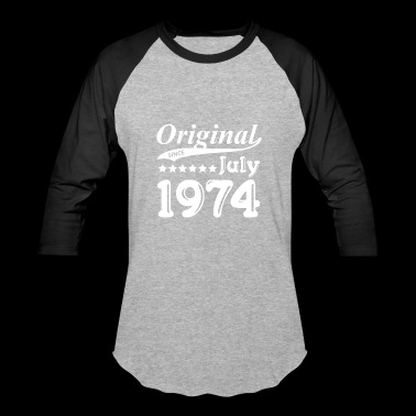 Original Since July 1974 Gift - Baseball T-Shirt