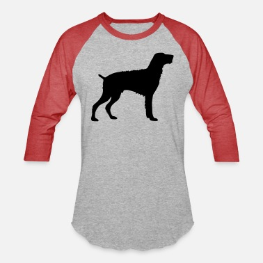 German Wirehaired Pointer - Unisex Baseball T-Shirt