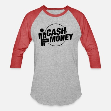cash_money_business_pu1 - Unisex Baseball T-Shirt