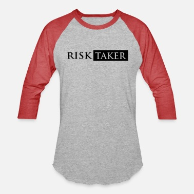 Risk risk taker - Unisex Baseball T-Shirt