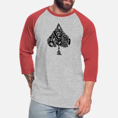 Ace Of Spades Ace Of Spades - Unisex Baseball T-Shirt