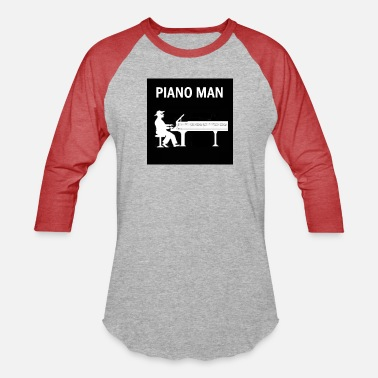 Joel piano man - Unisex Baseball T-Shirt