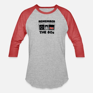 Remember Remember the 80 s - Unisex Baseball T-Shirt