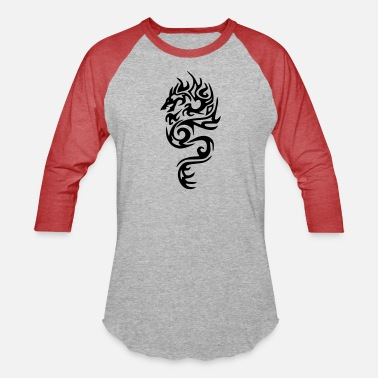 Fortuna dragon22 - Unisex Baseball T-Shirt