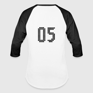 05, Numbers, Football Numbers, Jersey Numbers - Baseball T-Shirt