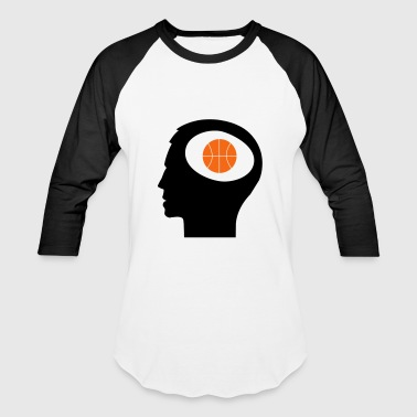 Only Basketball On My Mind - Baseball T-Shirt