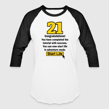 21 birthday - Baseball T-Shirt