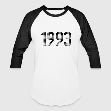 1993, Numbers, Year, Year Of Birth - Baseball T-Shirt