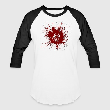 BLOOD HAZARD - Baseball T-Shirt