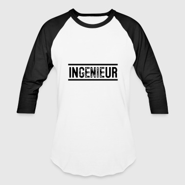 """play On Words"" InGENIEur Job Word play - Baseball T-Shirt"