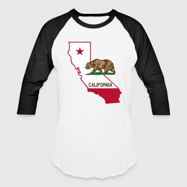 California Bear Long Sleeve Shirts - Baseball T-Shirt