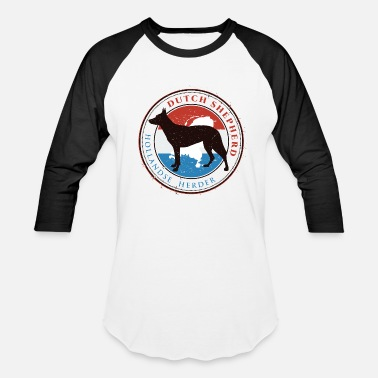 Dutch Shepherd Dog Dutch Shepherd Dog - Baseball T-Shirt