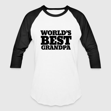 World's best grandpa - Baseball T-Shirt