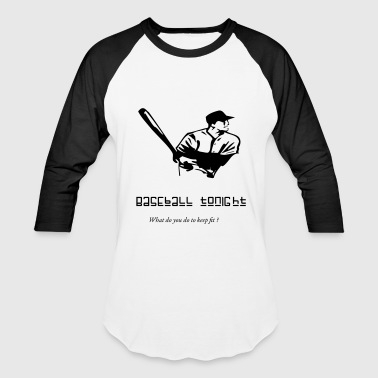 Horses Baseball Baseball tonight - Baseball T-Shirt