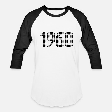 Year Of Birth 1960, Numbers, Year, Year Of Birth - Baseball T-Shirt