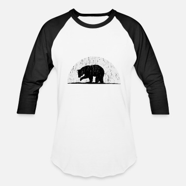 Woof Bears Bear Woof - Baseball T-Shirt